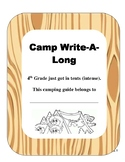 STAAR Writing- Camp Write-A-Long Student Booklet