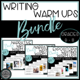 Distance Learning Daily Editing Writing Warm Ups Bell Ringers  Bundle