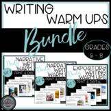 Daily Editing Writing Warm Ups Bell Ringer Activities Bundle