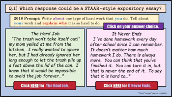 STAAR Writing Expository Prompt Explained (4th Grade)