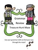 STAAR Writing Grammar Review Treasure Hunt Maze
