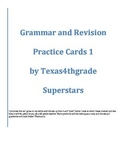 STAAR Writing Grammar and Revision Practice Cards