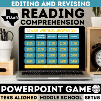 STAAR Writing PowerPoint Game - Revising & Editing Jeopardy