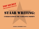STAAR Writing Personal Narrative Prompt Explained (4th Grade)
