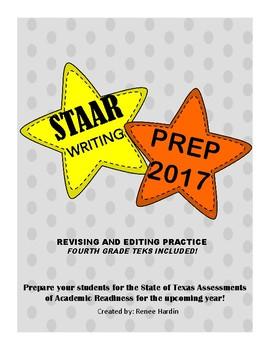 STAAR Writing Prep 2017 Revising and Editing