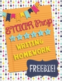 STAAR Writing Weekly Essay Homework FREEBIE