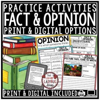 Fact and Opinion Activities