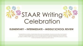 STAAR Writing Review - Elementary Intermediate Middle School