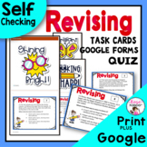Writing Revising Task Cards & Bonus Free Quiz