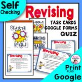 Writing Revising Task Cards & Bonus Free Quiz