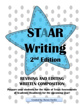 STAAR Writing Test 2nd Edition Assessment