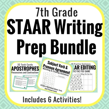 STAAR Writing Test Prep Bundle