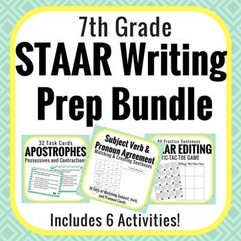STAAR Writing Test Prep Bundle