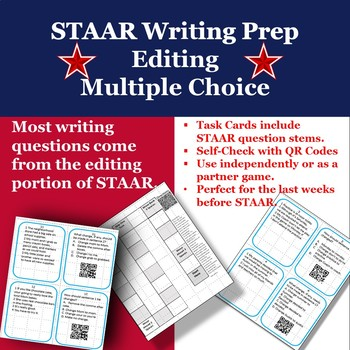 4th Grade Writing STAAR Test Practice