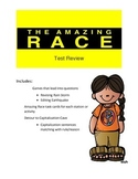 STAAR Writing Test Review Game-Amazing Race Theme