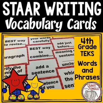 STAAR Writing Vocabulary