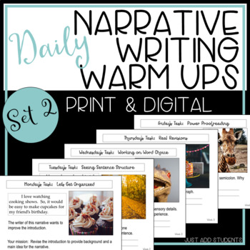 Set 2 STAAR Writing Daily Warm Up Editing Practice