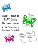 ELAR and End of Year Review Card Game