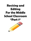 STAAR and Common Core- Grade 7 Revising and Editing Practi