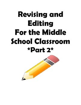 STAAR and Common Core- Grade 7 Revising and Editing Practice-Part II