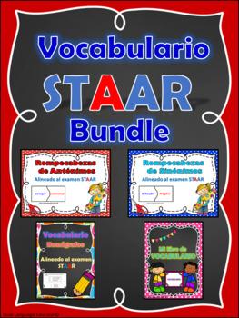STAAR bundle de vocabulario - Vocabulary STAAR Bundle - Spanish