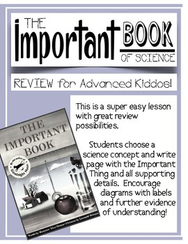 STAAR fifth SCIENCE review - Important Book