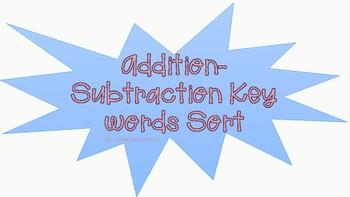 STAAR key words question sort
