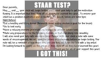 STAAR parent involvement