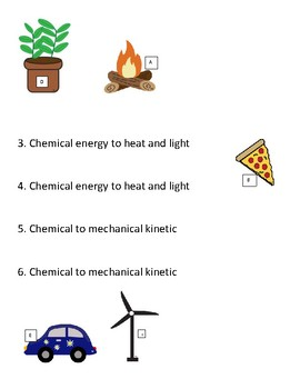 STAAR puzzle: Energy transformations