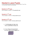 STAAR puzzle: Newton's Laws of motion