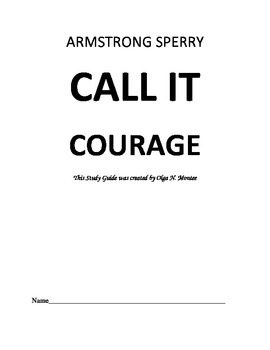 Novel Study Guide to Call It Courage by Armstrong Sperry