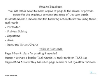 STAAR released style questions 4.5