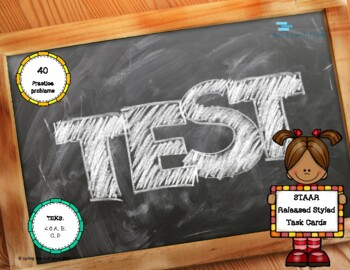 STAAR released styled 4.6 Practice Questions