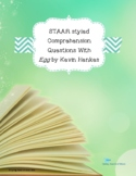 STAAR styled Comprehension Questions with Egg by Kevin Henkes