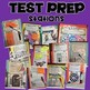 ♫ STAAR test 4th Grade Math TEST PREP activity stations BUNDLE