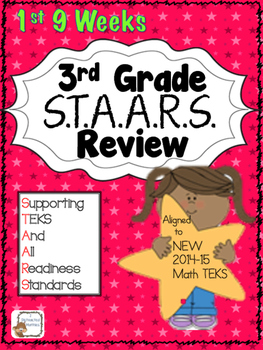 STAARS Daily Review of New TEKS:  3rd Grade--1st 9 Weeks