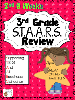 STAARS Daily Review of New TEKS:  3rd Grade--2nd  9 Weeks