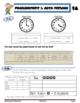 STAARS Daily Review of New TEKS:  3rd Grade--ENTIRE YEAR Bundle