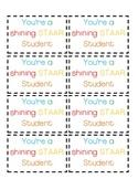 STAARS Nametags/Goodybag Labels