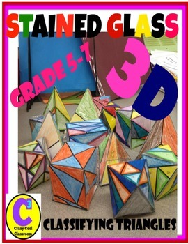 STAINED GLASS - 3D - CLASSIFYING TRIANGLES