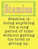 STAMINA Poster