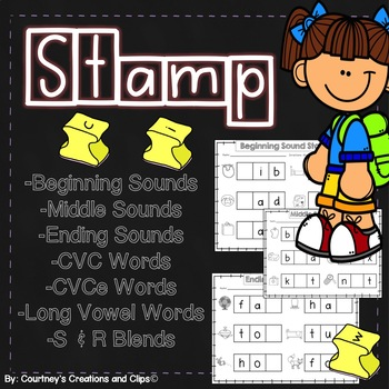 STAMP CVC Words and More {Worksheets}
