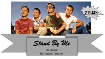 STAND BY ME Film Viewing Packet