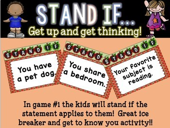 STAND IF: Back to school