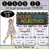 STAND IF: Nouns, Verbs, Adjectives