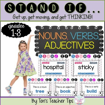 STAND IF: Nouns, Verbs, Adjectives