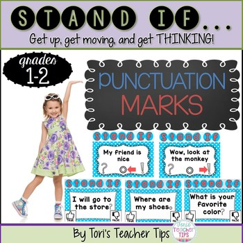 STAND IF: Punctuation Marks