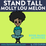 STAND TALL, MOLLY LOU MELON ACTIVITIES BOOK COMPANION