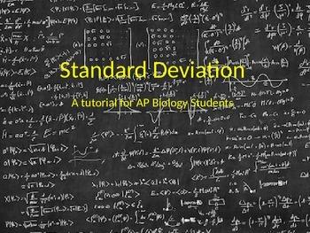 STANDARD DEVIATION for DUMMIES POWERPOINT