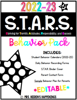 S.T.A.R.S. Behavior Pack {2016-2017}